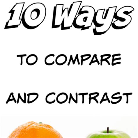 Types of Papers: CompareContrast